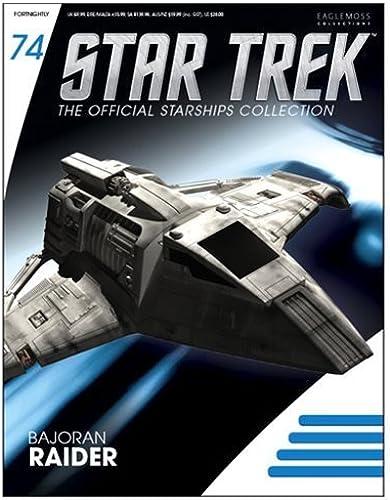 los últimos modelos Star Star Star Trek Starships Bajoran Raider Vehicle with Collector Magazine by Star Trek  descuento online