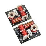 2個スピーカー周波数分周器BA50 2 Way 2 Unit Hi-Fi スピーカ周波数分周器クロスオーバーフィルタ