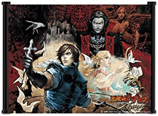Castlevania: The Dracula X Chronicles Game Fabric Wall Scroll Poster (21