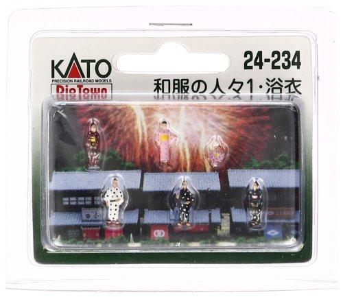 Kato 24-234 People In Kimonos (japan import)