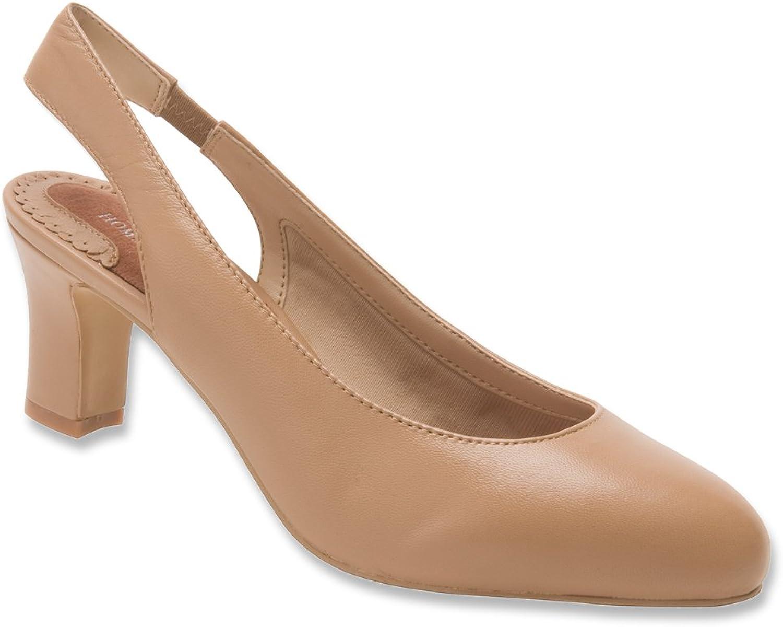 Ros Hommerson Women's Vicki Black Nappa heels 8 M