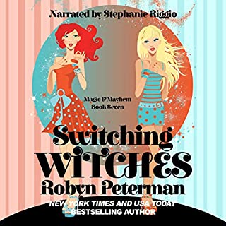 Switching Witches     Magic and Mayhem, Book 7              By:                                                                                                                                 Robyn Peterman                               Narrated by:                                                                                                                                 Stephanie Riggio                      Length: 5 hrs and 14 mins     Not rated yet     Overall 0.0