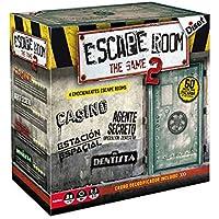 Outletdelocio. Juego de Mesa Escape Room V2 Original. Edicion Española. +16 años