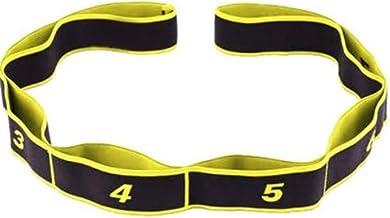 HFDA Digitale Yoga Stretch Band (Geel)