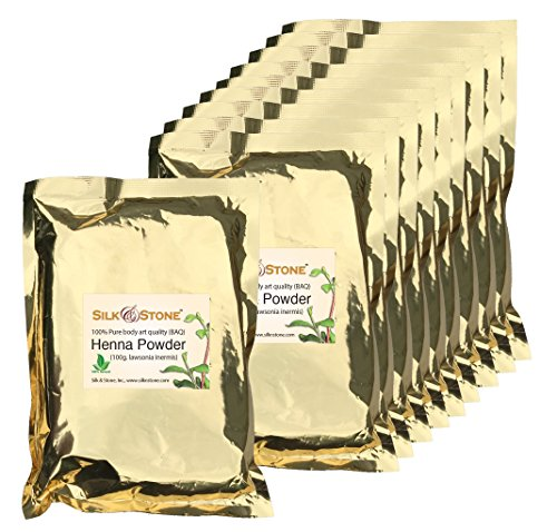 Silk & Stone 100% Pure & Natural Henna Powder Guaranteed (1kg.)