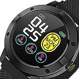 Reloj inteligente Q10 Monitor de presión arterial y ritmo...