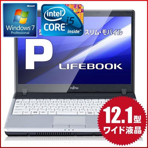『富士通 FMV ESPRIMO P P770/B FMVNP3FE notebook リファビッシュPC Windows7 Pro32 Corei5 160GB 12.1 インチ 液晶 無線LAN』の4枚目の画像