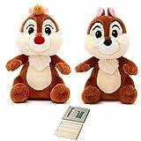 Price Toys Chip y Dale Disney Suave Conjunto de Juguete - Mini Frijol Rescue Rangers de Peluche (Chip/Dale v2)