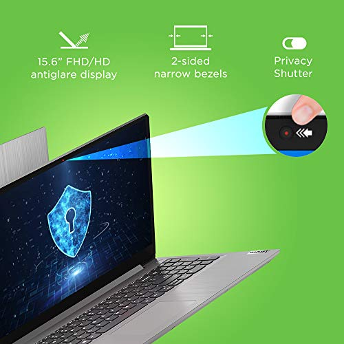 Lenovo IdeaPad Slim 3 AMD 3020e 15.6 inch HD Thin and Light Laptop (4GB/1TB HDD/Windows 10/Integrated AMD Radeon Graphics/Platinum Grey/1.85Kg), 81W100VFIN
