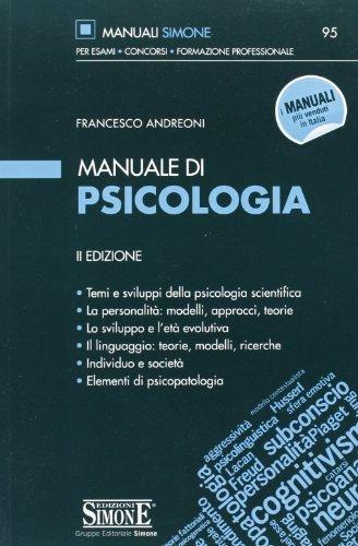 Manuale di psicologia