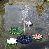 asterisknewly Solar Springbrunnen Mini Garden Schwimmender Springbrunnen Energiesparender Künstlicher Springbrunnen Im Freien Schmücken Sie Gärten, Schwimmbäder Und Brunnen