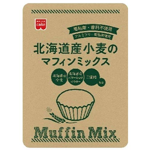 共立食品 北海道産小麦のマフィンミックス 220g×6袋入×(2ケース)