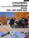 1986-2007 Honda CN250 Helix Repair Manual (English Edition)