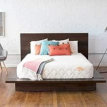 Happsy 100% Organic Mattress - Twin XL - Healthy Non-Toxic Sleep - Latex Over Coils - Mattress in a Box - Green Eco Bed