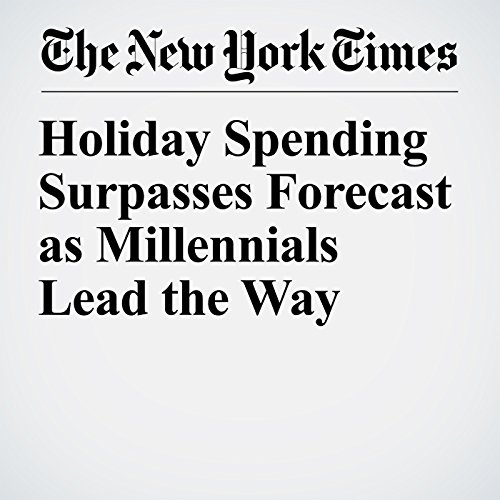 Holiday Spending Surpasses Forecast as Millennials Lead the Way copertina