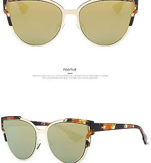 JHLD Sunglasses Polarized Women Fashion Cat Eye Flowers Square Beach UV Protection Driving