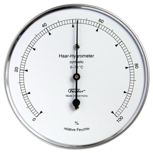 Haar-Hygrometer synthetic / Edelstahlgehäuse Ø 100 mm