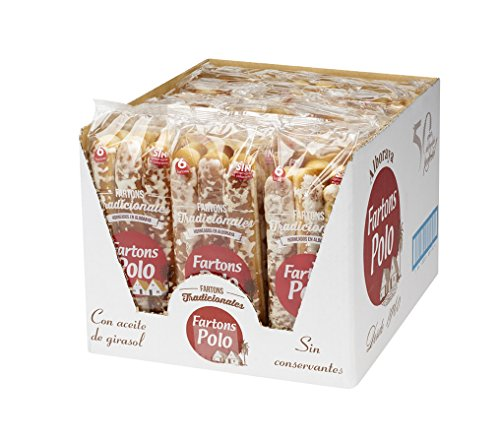 Fartons Polo Tradicionales - caja de 18 bolsas de 6 fartons -
