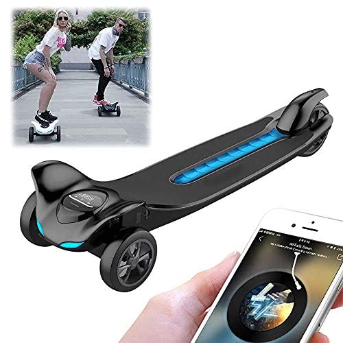 FRlss App Smart Bluetooth Music Scooters eléctricos, patinetas remotas inalámbricas con luz...