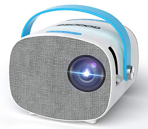 Mini proyector portátil con 5500 lúmenes, 1280 x 800p,...