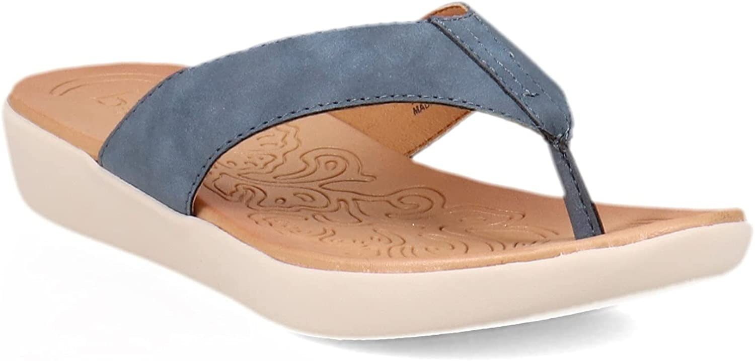 b.o.c. Women's Aimee Sandal M 7 Blue Free shipping anywhere in the nation Some reservation