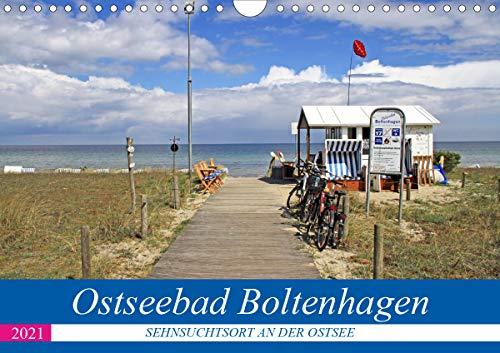Ostseebad Boltenhagen - Sehnsuchtsort an der Ostsee (Wandkalender 2021 DIN A4 quer)