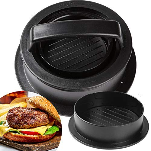 Aosethefrt Hamburger Press Burger Patty Maker Burger Buddy Bacon Meat Smasher Kit for Regular Burger Sliders and Beef Burger