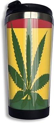 Darnell Dillon Weed Smoking Jamaican Flag マグカップ コーヒーマグ タンブラー ふた付き 直飲み 軽量 密封 おしゃれ 旅行用 携帯便利 通勤 通学 ロゴ コーヒーカップ ステンレス製 水が漏れない 安全 おしゃれ 保熱 ウォーターカップ 真空断熱 プレゼントOne Size クリスマスプレゼント