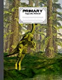 """Primary Composition Notebook: Primary Composition Notebook Grades K-2, Story Journal with Dotted Midline and Picture Space - Dilong Dinosaurs Cover by Simone Bach   120 Story Pages, Size 8.5"""" x 11"""""""