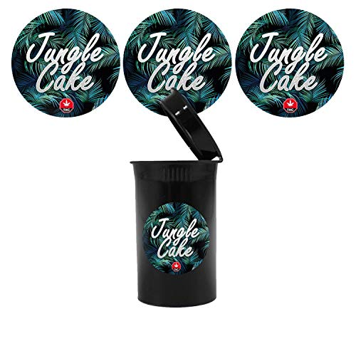Jungle Cake Cali Pop Top Slap Pegatinas – 60 mm – 20 unidades