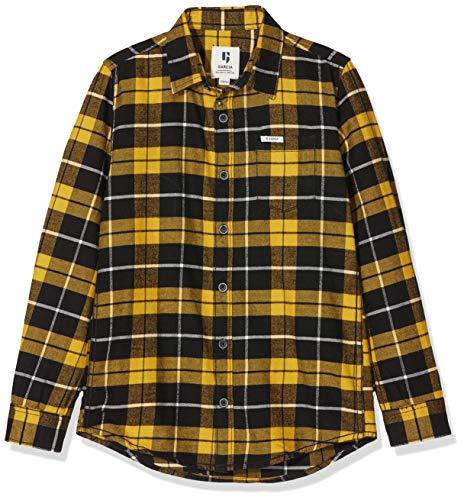 Garcia Kids Jungen I93430 Hemd, Mehrfarbig (Golden 3019), 164 (Herstellergröße: 164/170)