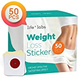 Lifenlabs Weight Loss Sticker, Fat burning Adhesive Sticker, suitable for beer belly, waist belly fat, for quick slimming, fast weight loss