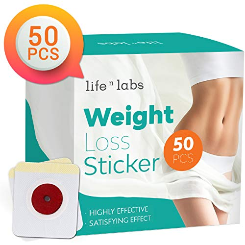 Lifenlabs Weight Loss Sticker, Fat Burning Adhesive Sticker, Suitable for Beer Belly and Quick Slimming (50pcs)