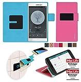 Hülle für Oppo R5 Tasche Cover Hülle Bumper | Pink | Testsieger