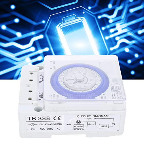 Interruptor de temporizador, interruptor de tiempo programable Diseño sofisticado para fábrica