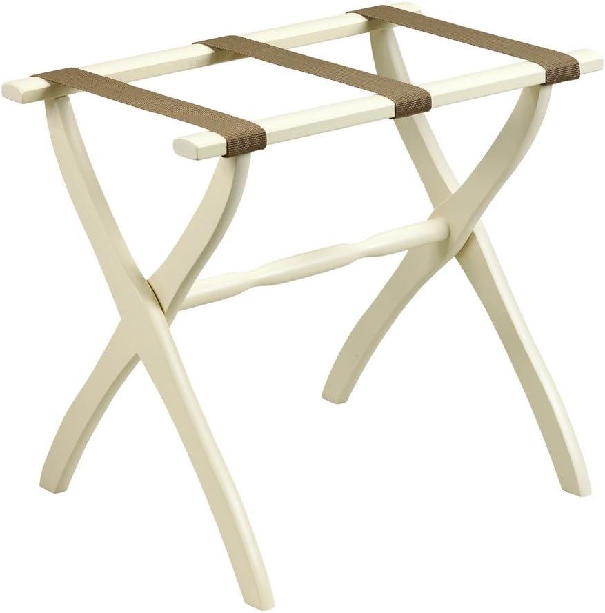 Gate House Furniture Contour Leg latest Rack Bargain sale Luggage Series Nylon Wood