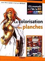 La colorisation des planches de Jean-Marc Lainé