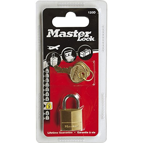 MASTER LOCK - 120EURD - messing hangslot 20 mm