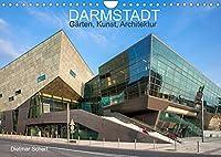 Darmstadt - Gaerten, Kunst, Architektur (Wandkalender 2022 DIN A4 quer): Kunstvolle Fotografien einer kunstvollen Stadt (Monatskalender, 14 Seiten )