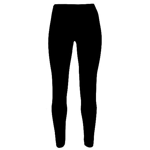 eb2159dbb Girls Kids Leggings Plain Full Length Dance Stretch Child Teens 2 3 4 5 6 7