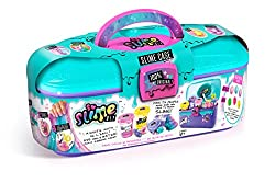 No Glue! No Mess! Just add water The 100% Original DIY Slime Complete kit in a handy carry case! Model number: SSC 004