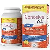 CONCEIVE PLUS Supplément de fertilité pour homme - Soutien de la motilité masculine avec vitamine E, sélénium,...