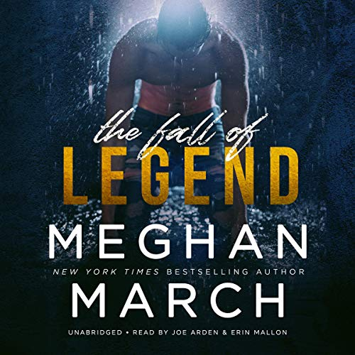 The Fall of Legend audiobook cover art