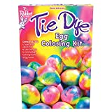 Fun World Tie Dye Hippie Easter Eggs Supply 25pc 9' Egg Decorating Kit