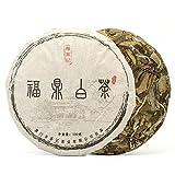 Teavivre Fuding Shou Mei White Tea Cake - 100g / 3.5oz