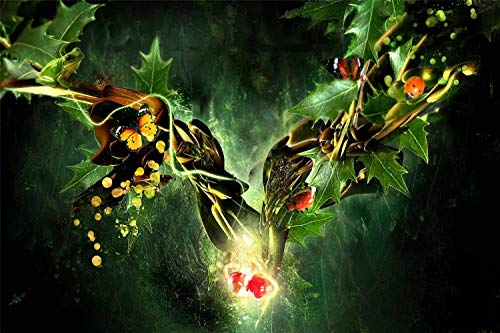 Diy 5D Diamond Painting By Number Kits Fantasy World Butterfly Ladybug Frog Painting Cross Stitch Full Drill Crystal For Home Wall Decor Gift Valentine'S Day Present 30 * 40cm