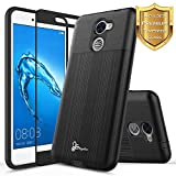 NageBee for Huawei Ascend XT 2 Case with [Full Cover Tempered Glass Screen...