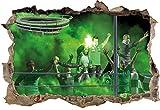 Ultras Hannover, 3D Wandsticker Format: 62x42cm,