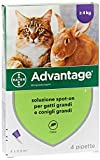 advantage de6417 advantage4 pip spoton, 0.8 ml x 4