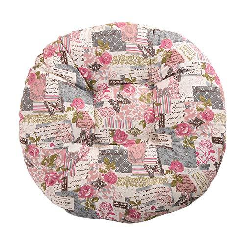Cosanter Coussin à Motif Papillon Rose Coussin de Chaise Décoration de Meubles de Jardin pour chaises de Cuisine Jardin Salle à Manger Galette de Chaise